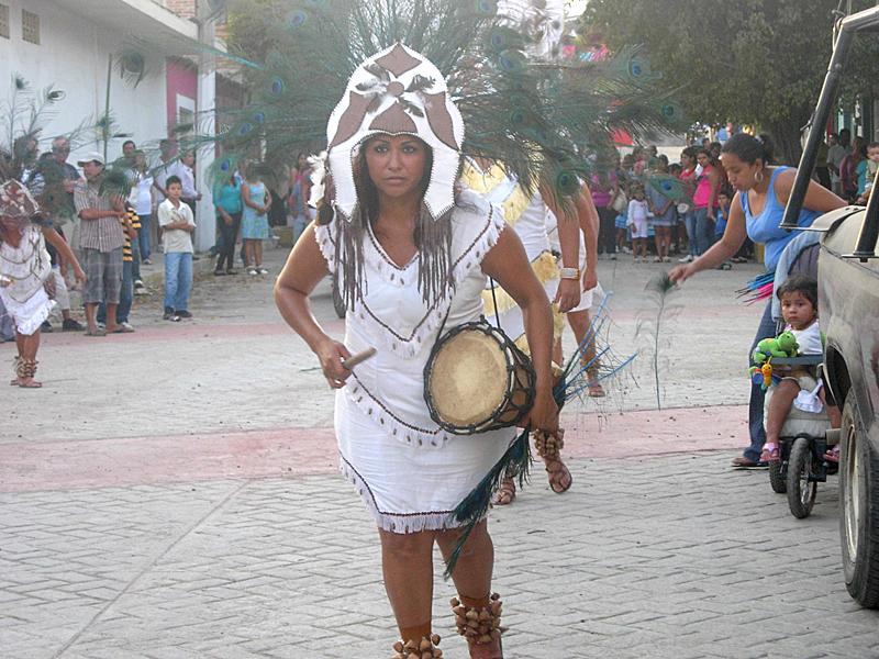 Fiestas Patronales in La Cruz