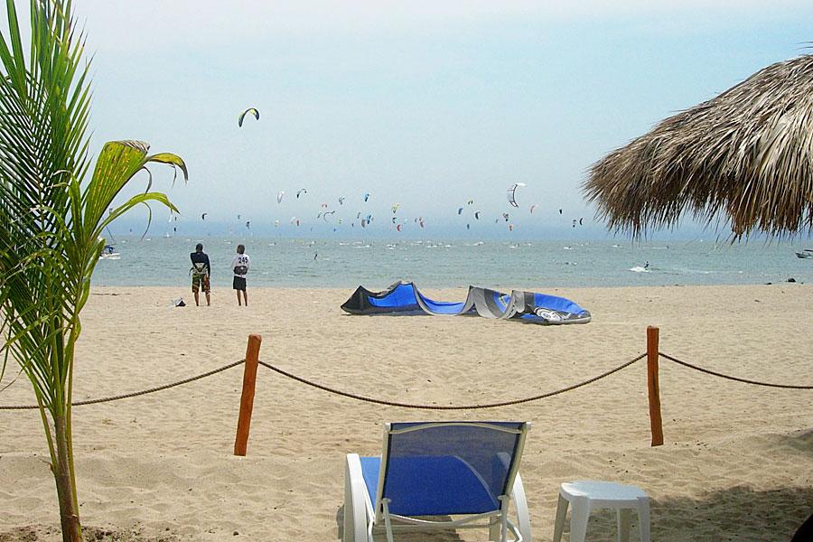 Kite surfing Puerto Vallarta